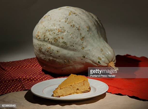 Green Plate Special on chessecake made with Hubbard Squash photographed on Wednesday November 9 2016