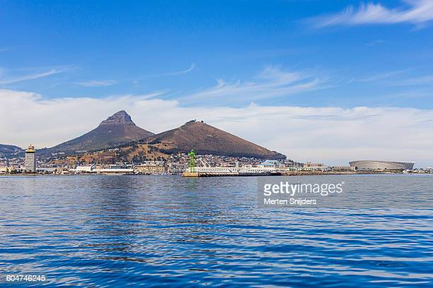 Green Point and V&A Waterfront from sea