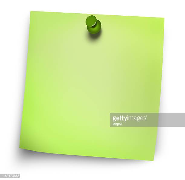 グリーン postit