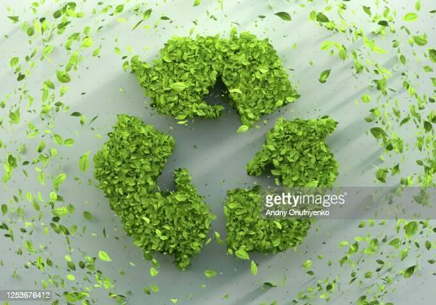 green recycle sign - sustainability stock pictures, royalty-free photos & images