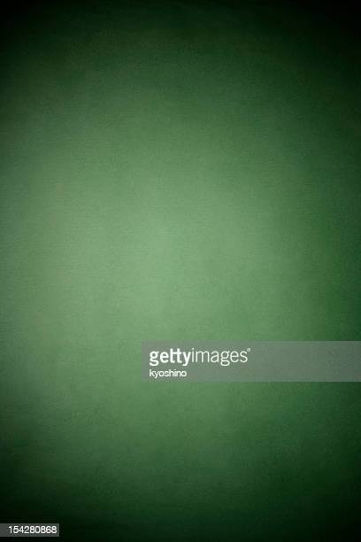グリーンのライスペーパーテクスチャ背景にスポットライト