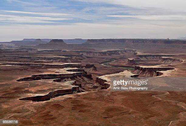 green river canyon, canyonlands national park - amit basu stock pictures, royalty-free photos & images