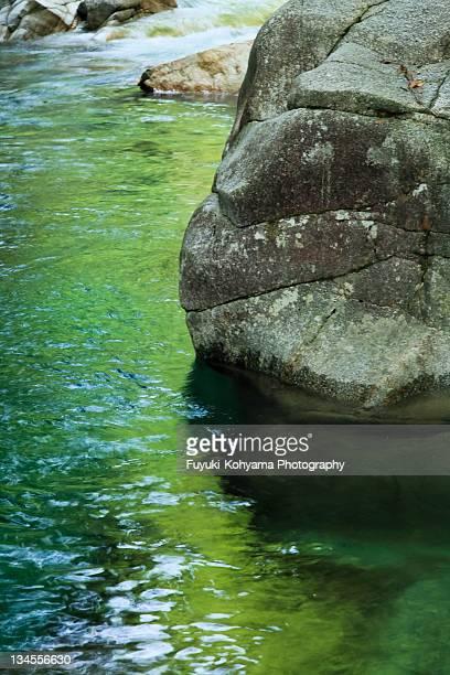 Green river , Kakizore Keikoku