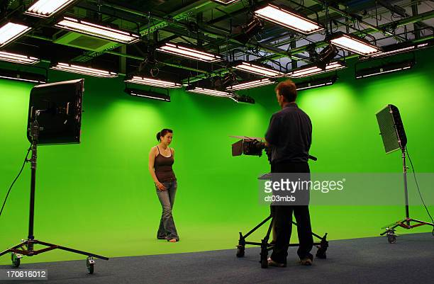 green room - spotlight film stock photos and pictures