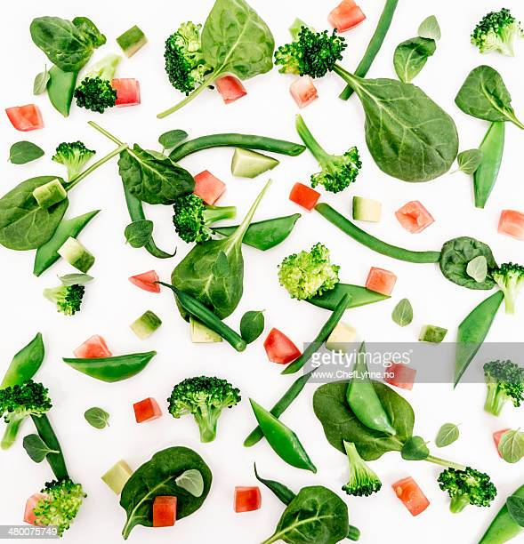 green salad - green salad stock pictures, royalty-free photos & images