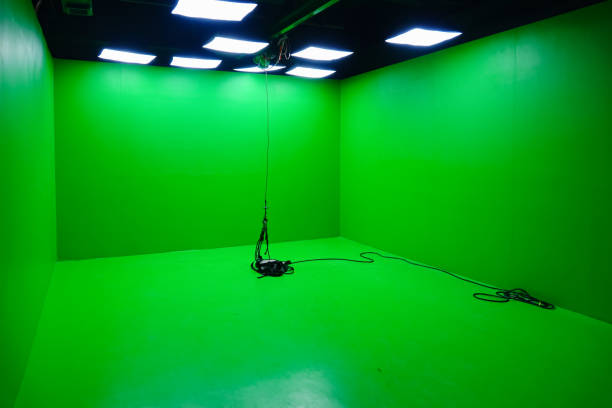 Green screen studio, film and television drama shooting technology