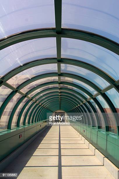 green skywalk - lincoln nebraska stock pictures, royalty-free photos & images