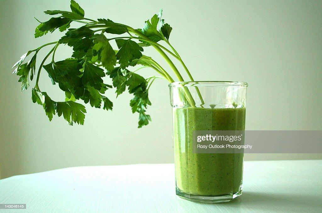 Green Smoothie : Stock Photo