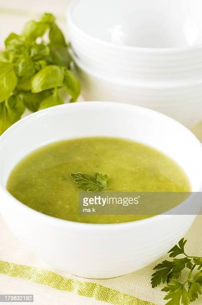 Sopa de verde