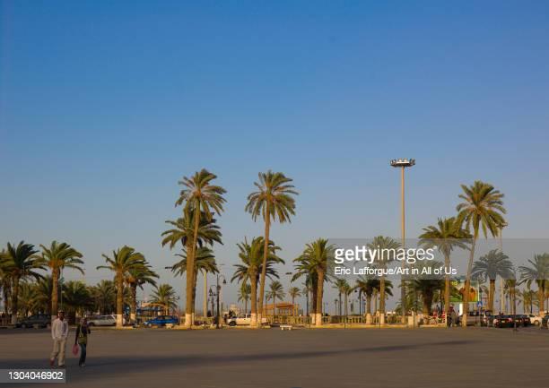 Green square, Tripolitania, Tripoli, Libya on October 22, 2007 in Tripoli, Libya.