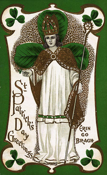 St patricks day greetings postcard pictures getty images st patricks day greetings postcard m4hsunfo