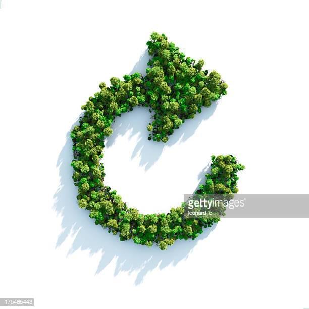 green step forward - carbon dioxide bildbanksfoton och bilder