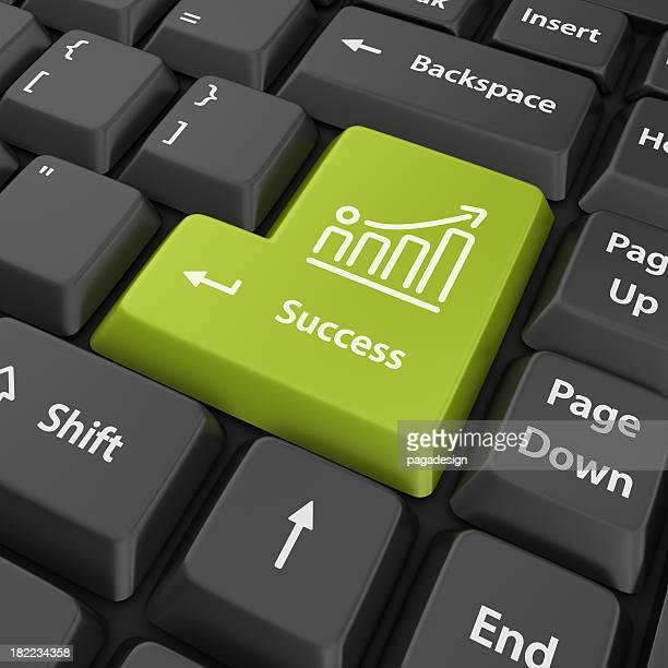 green success enter button