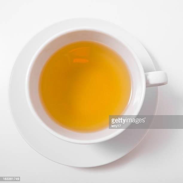 green tea above