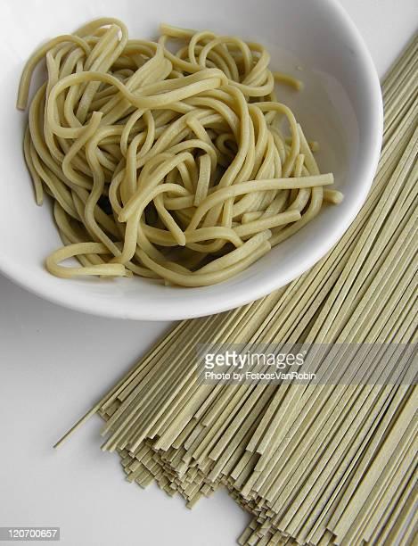 green tea noodles - 蕎麦 ストックフォトと画像