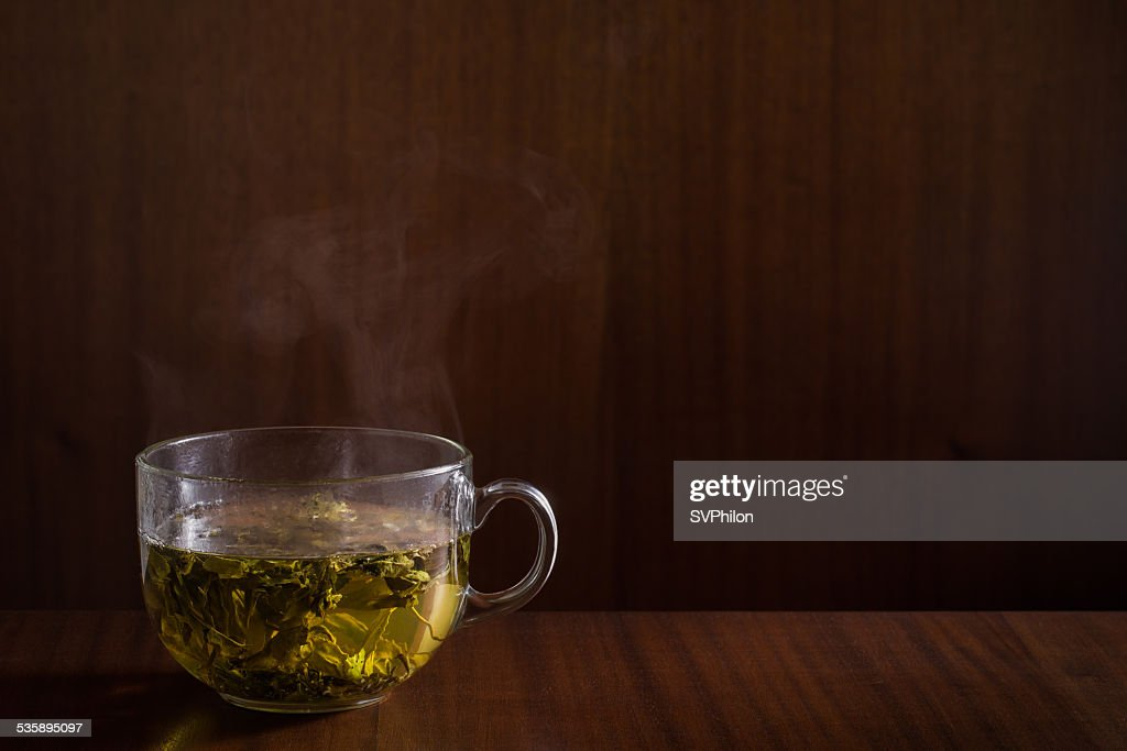 Green tea. : Stockfoto