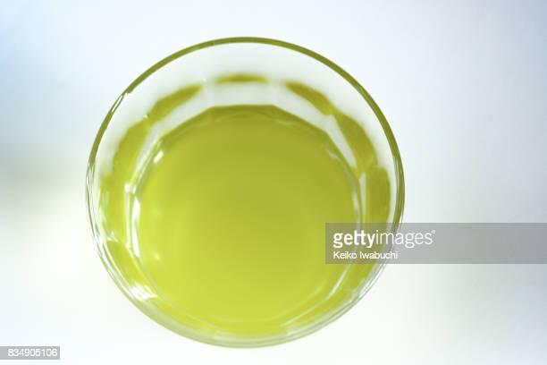 green tea - 温かいお茶 ストックフォトと画像
