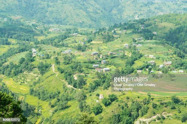 Green Terraced Fields - Nagarkot, Nepal