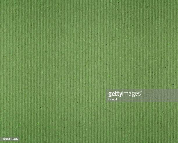 green textured paper with vertical lines
