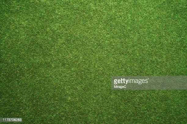 green turf texture - football field stock pictures, royalty-free photos & images