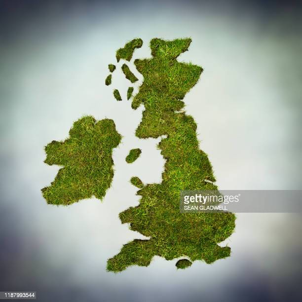 green uk - map stock pictures, royalty-free photos & images