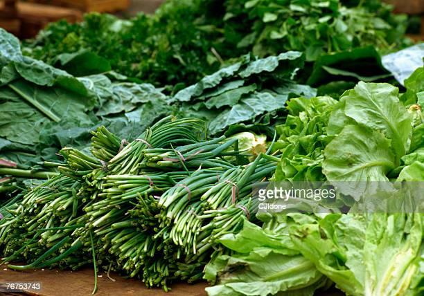 green vegetables at market - feijoada imagens e fotografias de stock