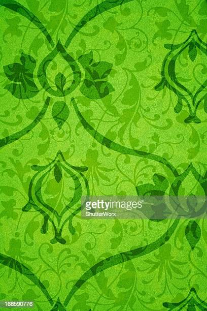 Green Victorian Background