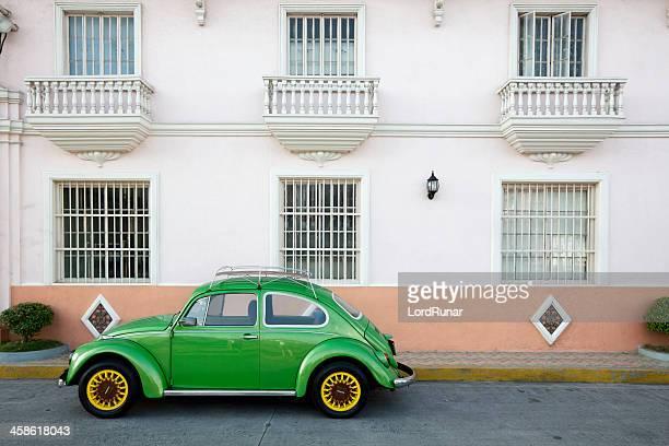 VW Carocha verde