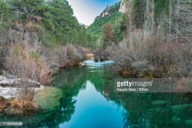 green water of tajo river - ジオパーク ストックフォトと画像