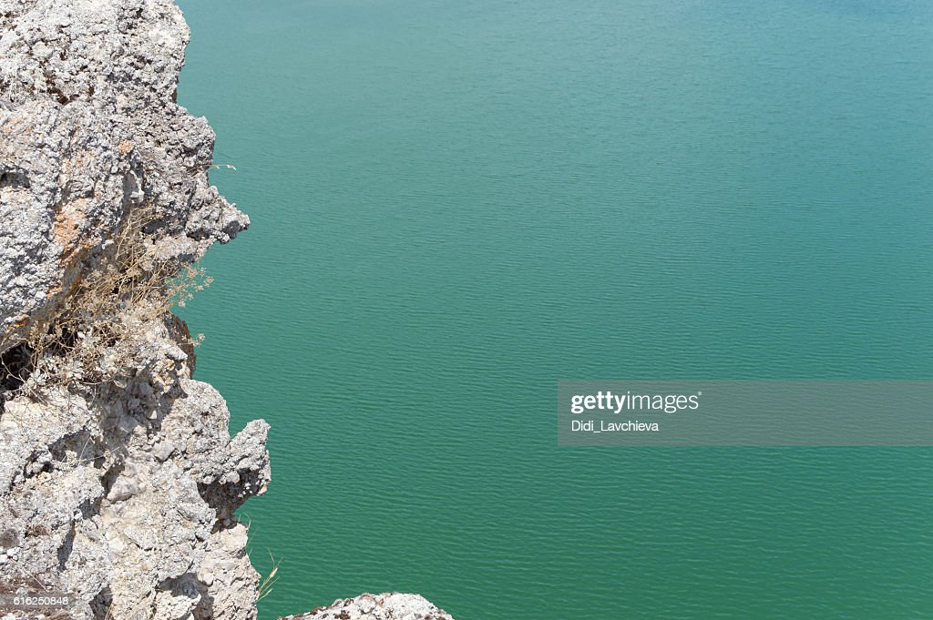 Green water surface : Stock Photo
