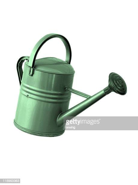 Green Watering Can - Isolated