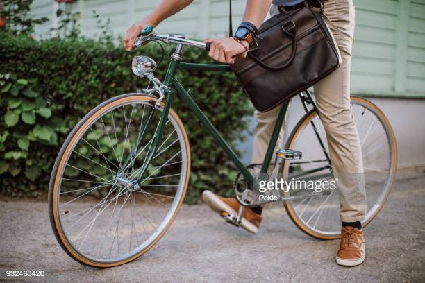 green way to get to office - suave stock pictures, royalty-free photos & images