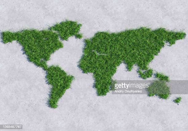 green world map - sustainability stock pictures, royalty-free photos & images