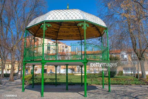 Green Wrought Iron Bandstand