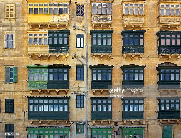 Green & Yellow Balconies