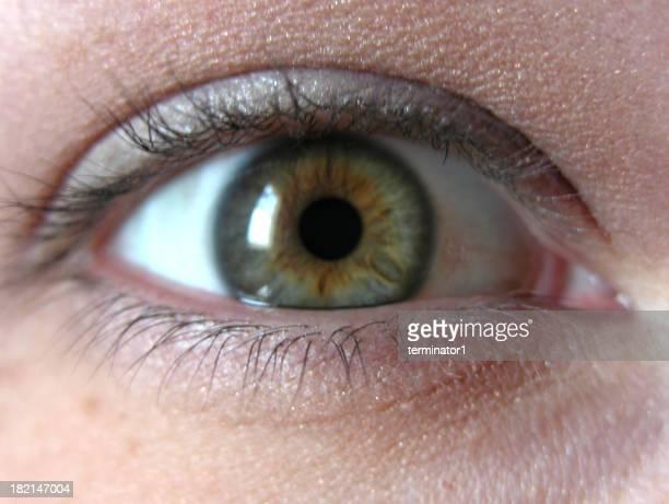 Green-eyed beauty