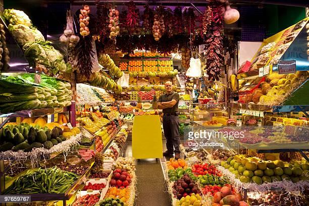 greengrocer - las palmas de gran canaria stock pictures, royalty-free photos & images