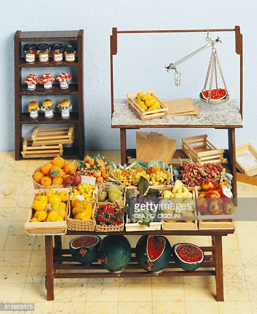 Greengrocers miniature shop 20th century