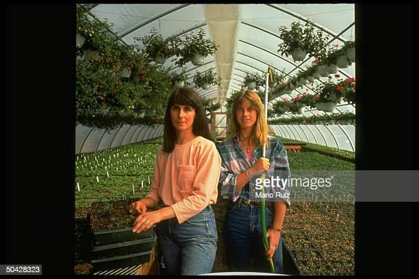 Greenhouse partners Leslie Kavanagh Sally Sawyer