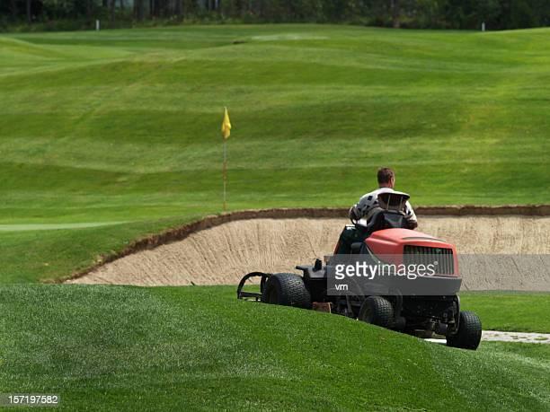 greenkeeper - golfbana bildbanksfoton och bilder