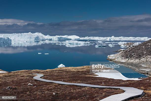 greenland, disko bay, exterior - drift ice stock pictures, royalty-free photos & images