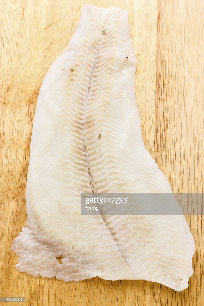 Greenland halibut : Stock Photo