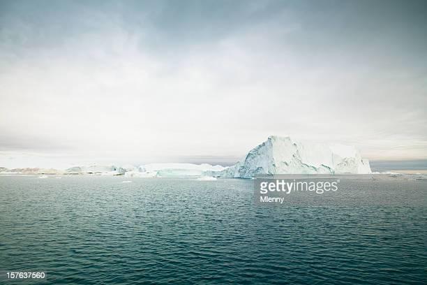 Greenland Icefjord Arctic Icebergs