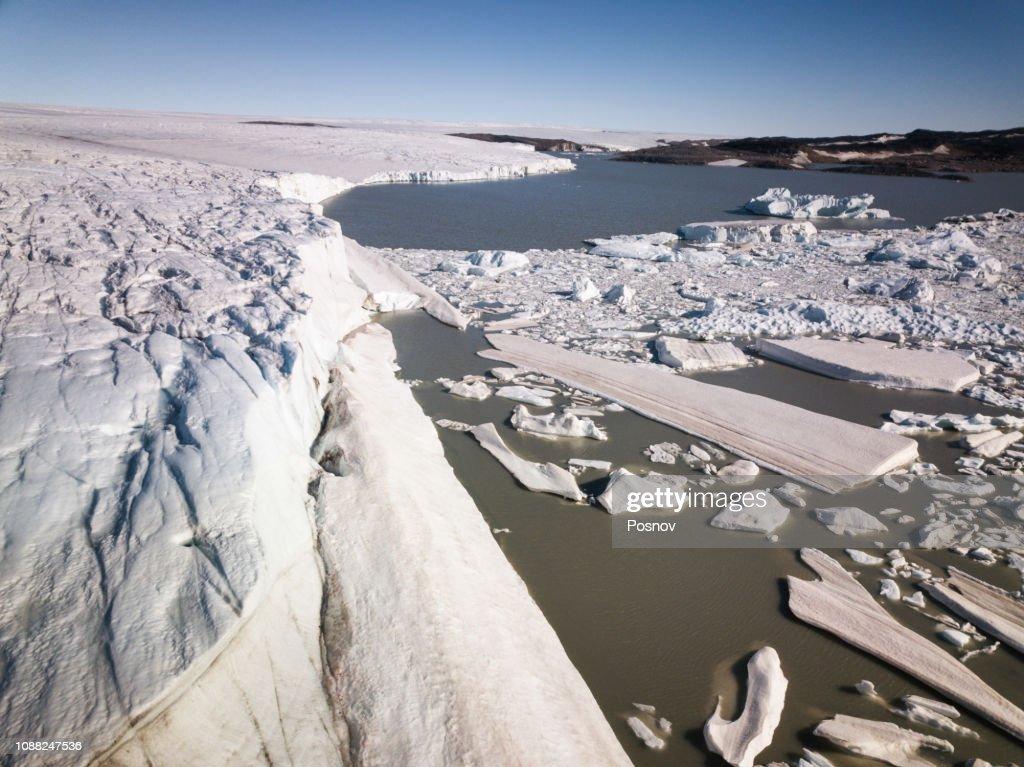 Greenlandic Ice Cap : Stock Photo