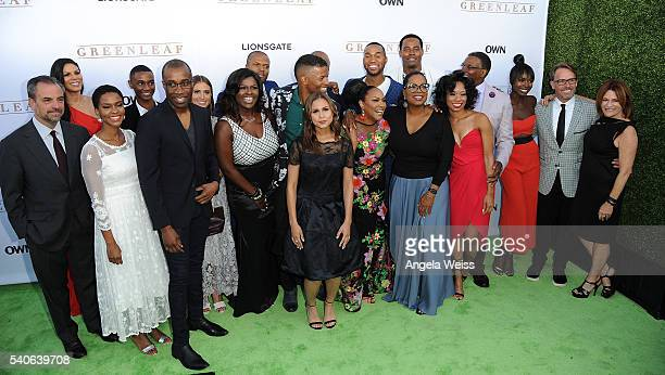 'Greenleaf' cast members attend the premiere of OWN's 'Greenleaf' at The Lot on June 15 2016 in West Hollywood California