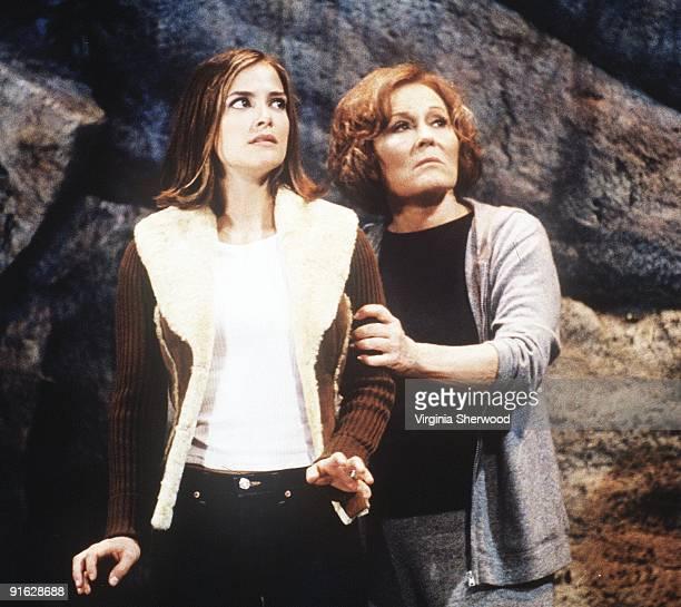 Greenlee was held at gunpoint by Vanessa Cortlandt at Miller's Falls Overlook airing the week of Oct 14 2002 on Walt Disney Television via Getty...