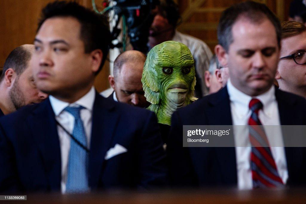 Senate Confirmation Hearing For David Bernhardt To Serve As Interior Secretary : News Photo