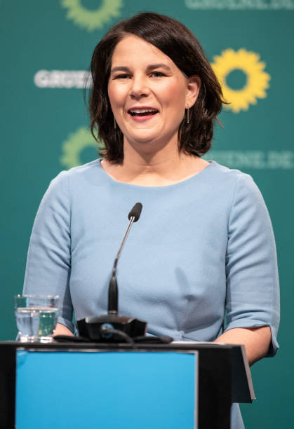 DEU: Greens Party Chancellor Candidate Annalena Baerbock Press Conference