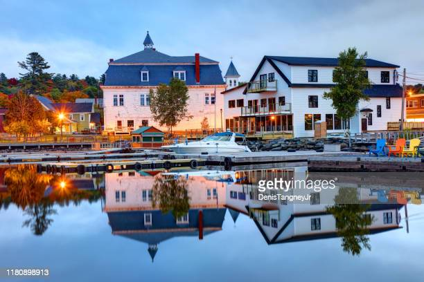 greenville, maine - maine stock pictures, royalty-free photos & images