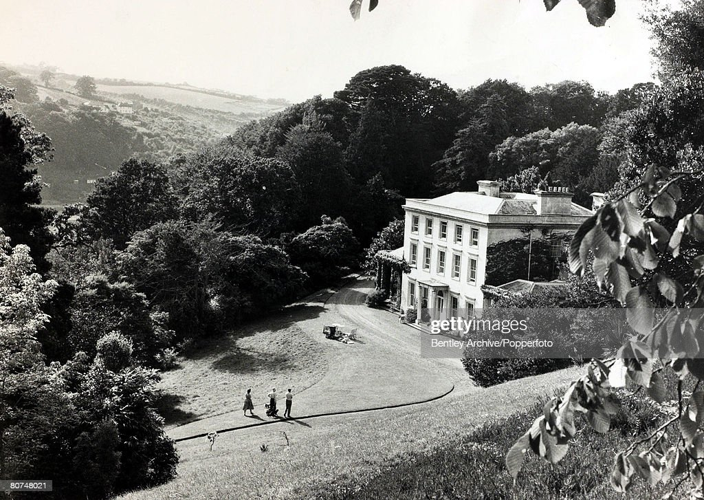 1959, The delightful setting of Greenway House, Devon the home of English crime writer Agatha Christie, Agatha Christie, (1890-1976), the world's best known mystery writer, famous for her Hercule Poirot and Miss Marple stories, and for her plays including 'The Mousetrap'